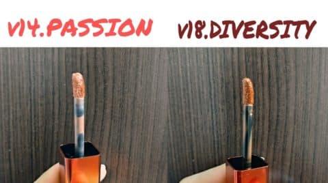 MERZYのV14.PASSIONとV18.DIVERSITYのアプリケータ
