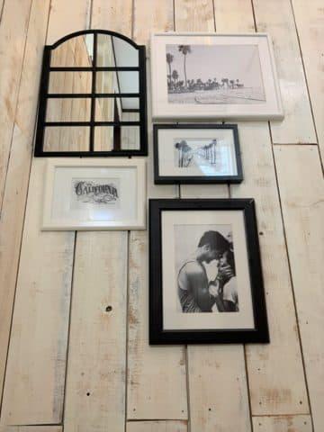 バーニーフィールズの階段途中の店内写真