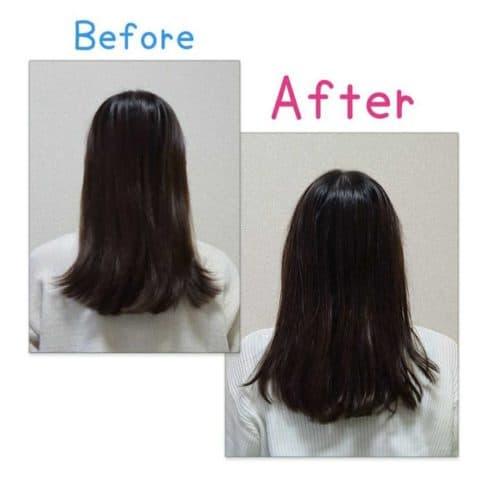 乾燥や静電気で傷んでしまった髪…オーガニクエ リペアシャンプー・トリートメントセットを試してみた結果!!②