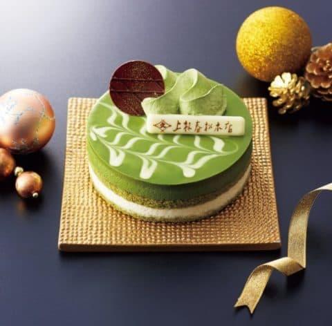 上林春松本店監修の抹茶のクリスマスケーキがたまらない
