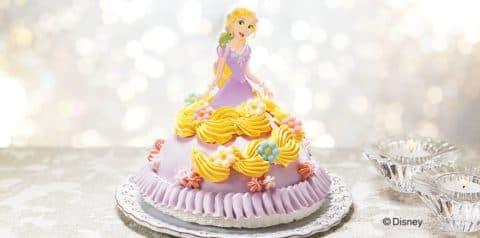 クリスマスデコレーションケーキ<ラプンツェル>がおすすめ