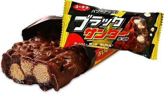 男性が好きなチョコレート_ブラックサンダー