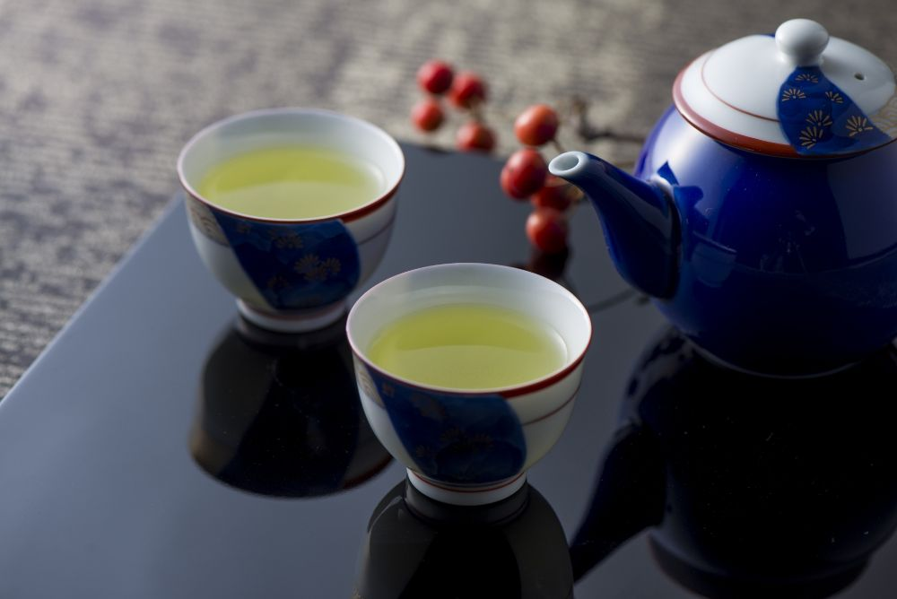 緑茶は心を落ち着かせてくれる