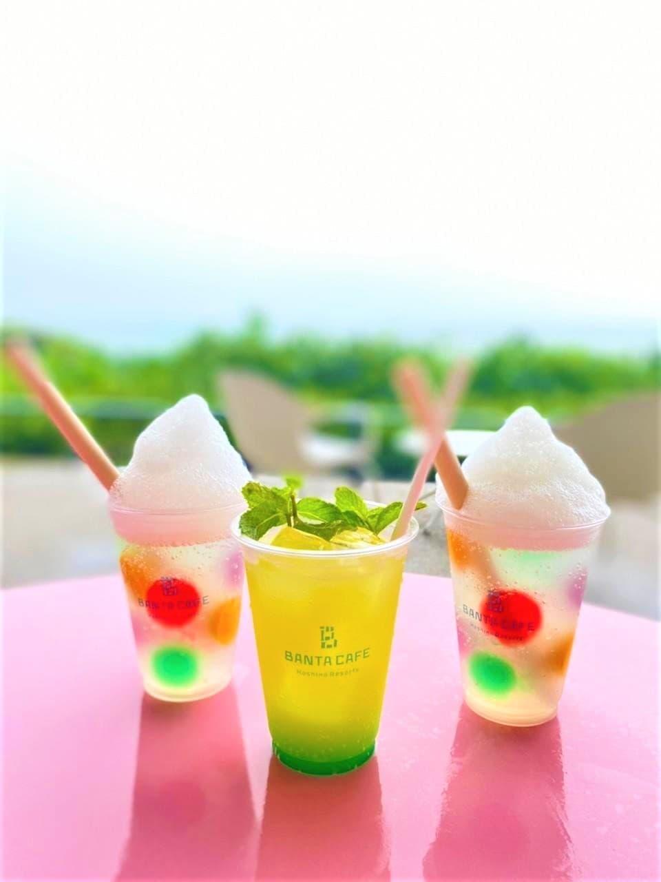 星野リゾートのバンタカフェの写真